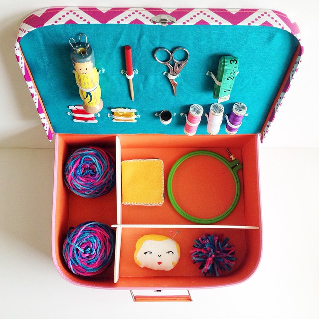 DIY Kids Sewing Box