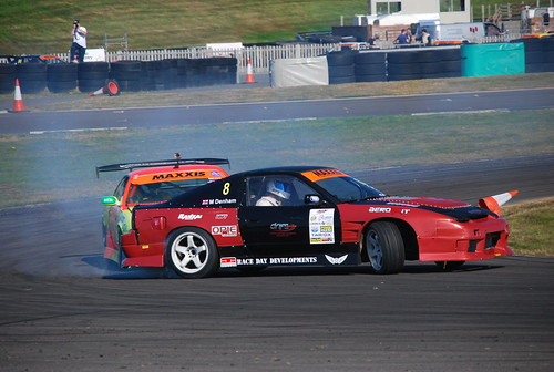 Matt Denham - Callum Craddy, Maxxis British Drift Championship, Anglesey 2014