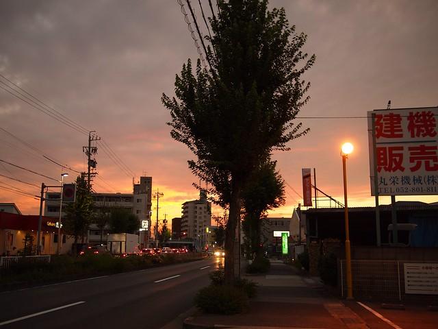 2014.9.20 名古屋の空