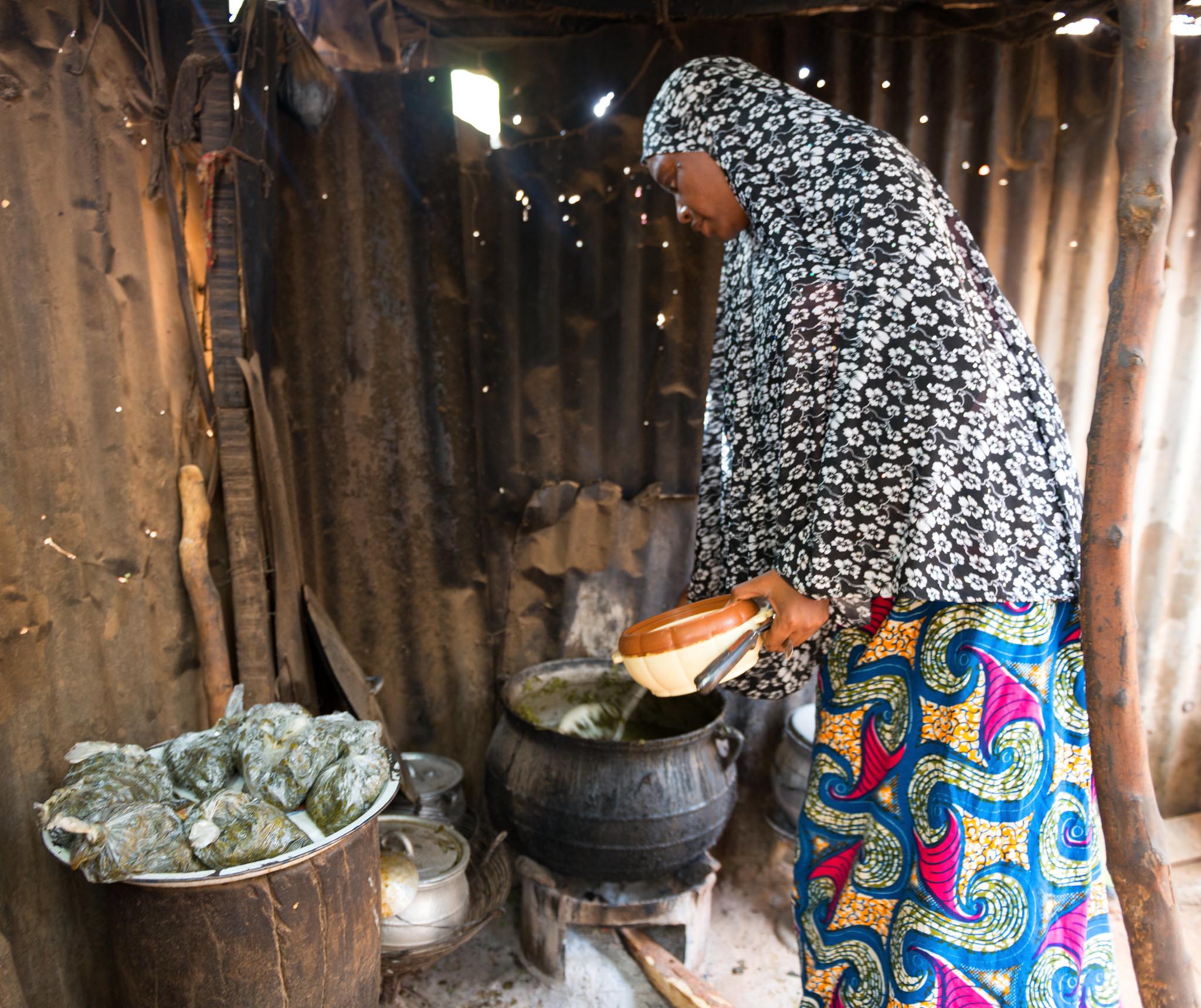 Boiling Greens in Niamey