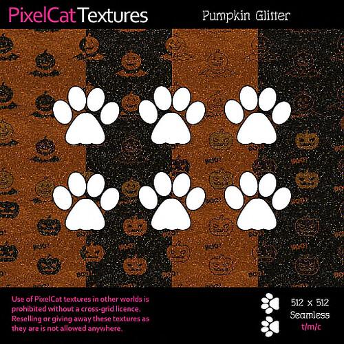 PixelCat Textures - Pumpkin Glitter
