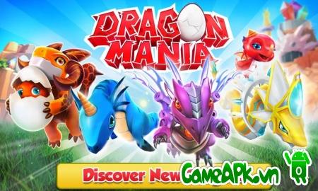 Dragon Mania v4.0.0 hack full tiền xu & đá quý cho Android