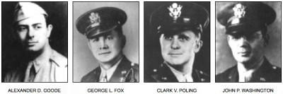 Los cuatro capellanes