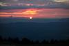 Sonnenuntergang am Semnoz
