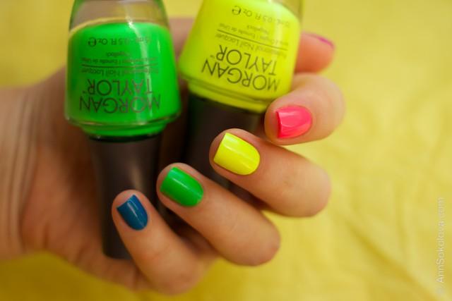 06 Morgan Taylor Neon Lights nails