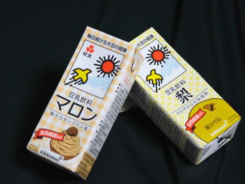 秋向けの豆乳
