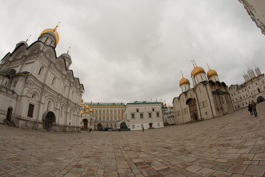 Cathedrals area of Kremlin