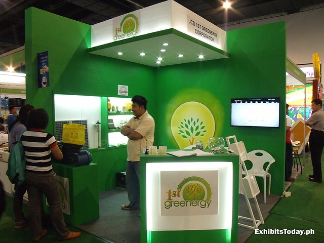 1st Greenergy Booth
