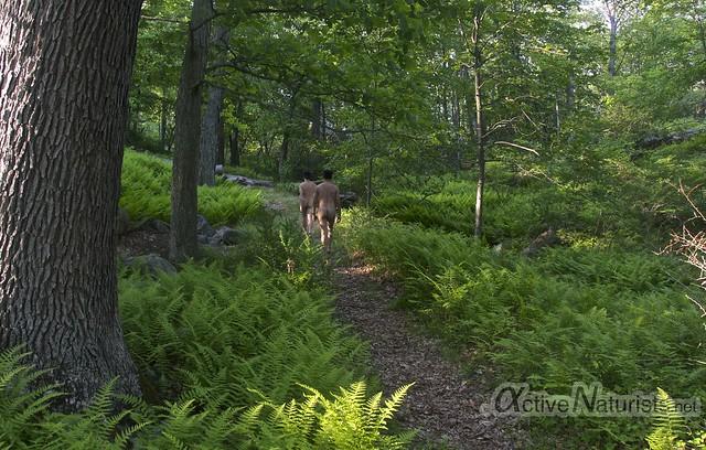 naturist &0001 Harriman State Park, New York, USA