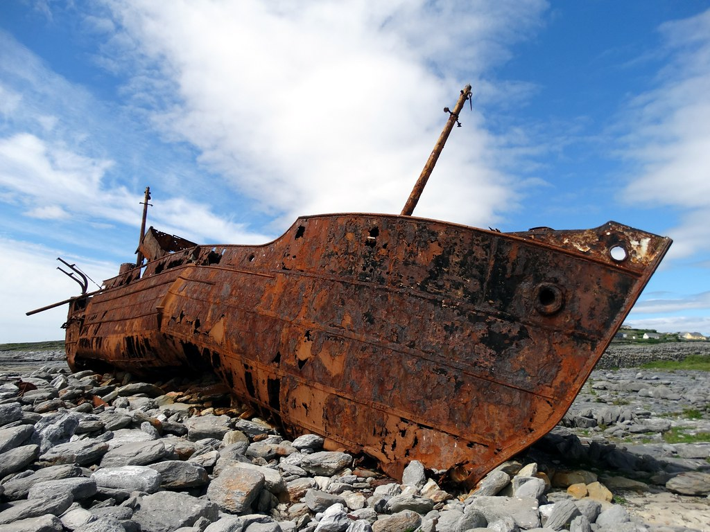 Shipwreck of the Plassey