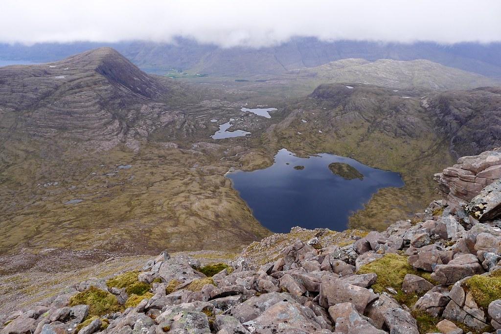 Loch an Eoin from Maol Chean-dearg