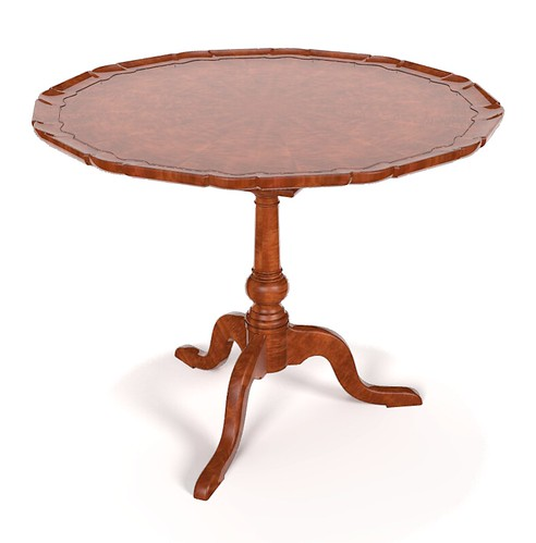 Pie Crust Table