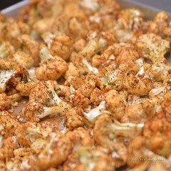 #roastedcauliflower from #ufitmeals #photoshoot #eatclean #mealprep