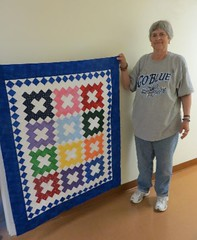 Quilt top for the 50th