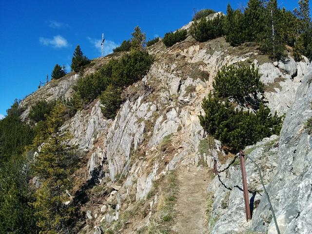 Drahtseilgesicherter Gipfelanstieg Wolfskofel, Wandern Südtirol