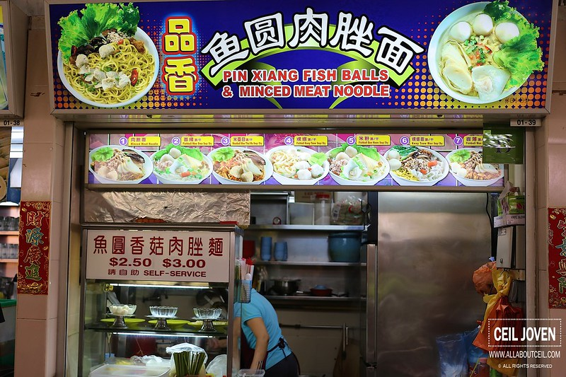 all about ceil pin xiang fish balls  minced meat noodle