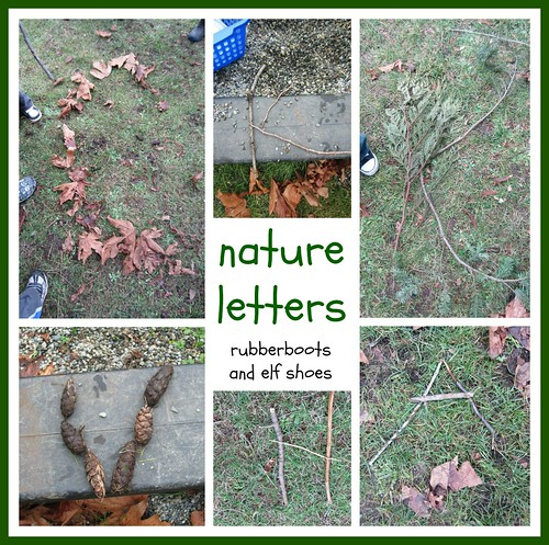 Nature Letters (Photo from Rubber Boots and Elf Shoes)