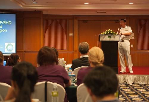 Pacific Partnership Hold Heart Disease Symposium in Cambodia