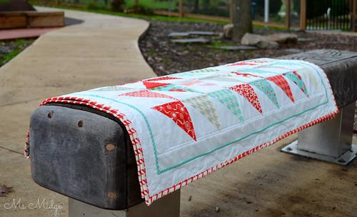Vintage Modern Pinwheel Quilt