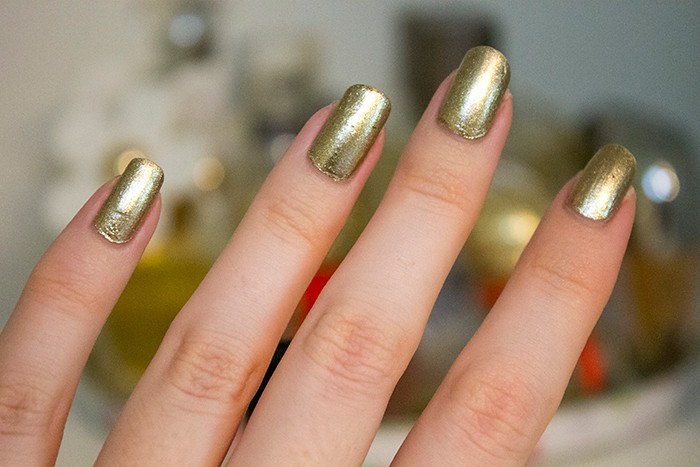 ORLY Color Blast in Golden Chrome Foil