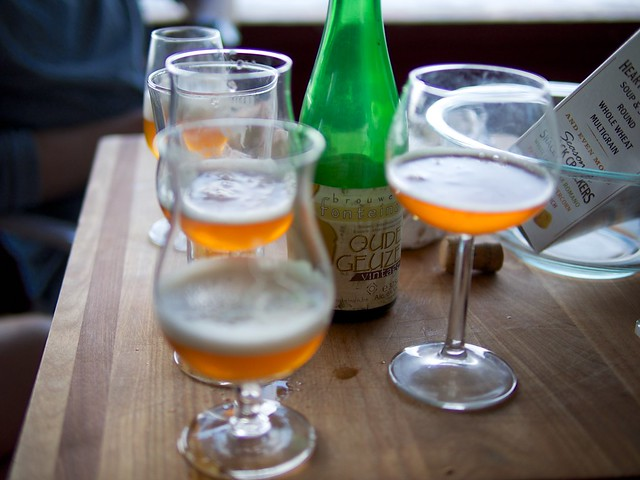 Lambic Beer Tasting w/ Friends