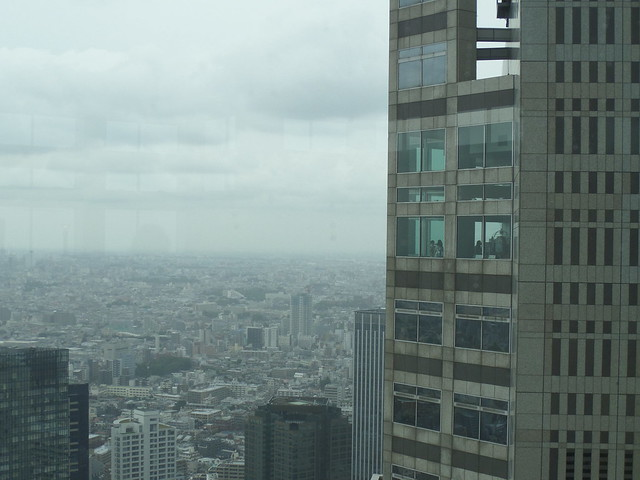 South Tower View of the Tokyo Metropolitan Government Building