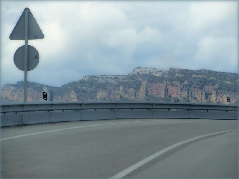 Una curva en el camino