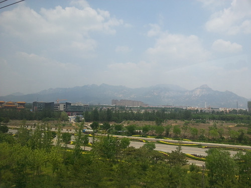 Taishan (during train ride from Beijing to Shanghai)