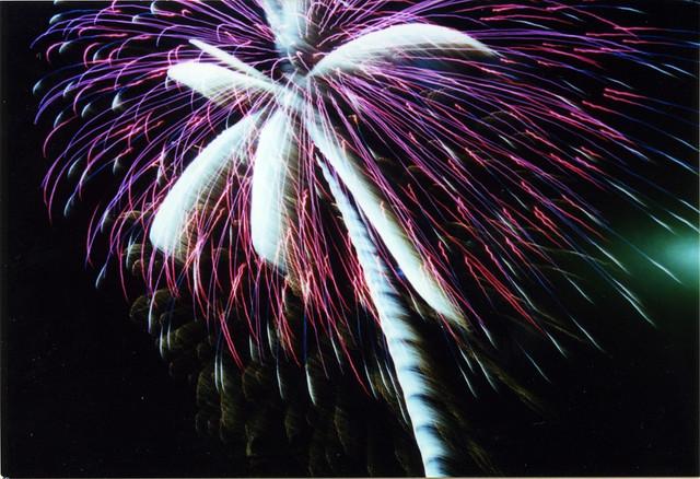 Fireworks, BGSU 2001