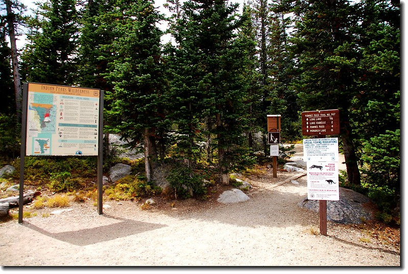 Long Lake Trailhead