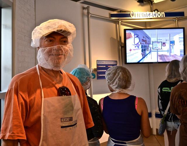Chocolate World Hershey PA USA - No Beards Allowed