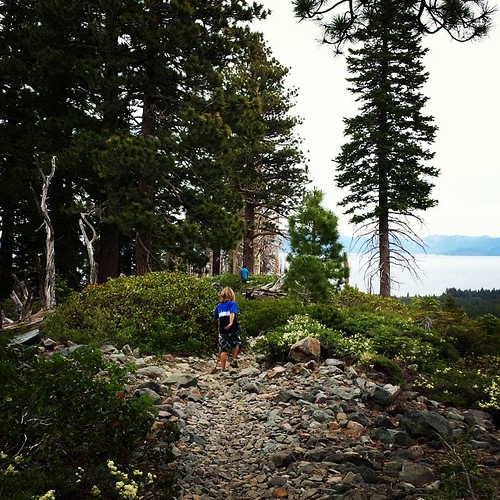 Hiking Tallac trail #summer #boys #wild #tahoe #nature