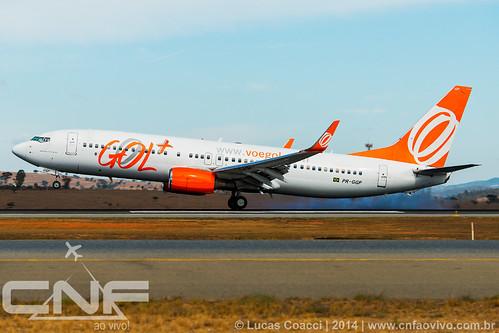Boeing 737-800 Gol Linhas Aéreas PR-GGP