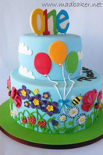 Rachel's 1st Birthday Cake