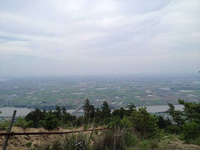 石津御嶽 五合目からの眺望