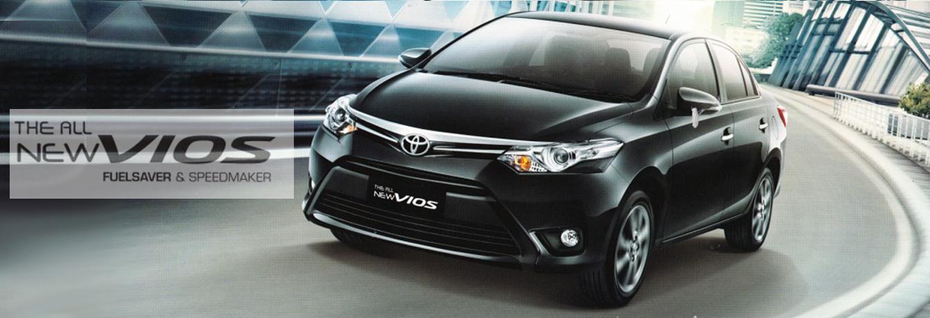 Mobil Toyota Vios di Jakarta