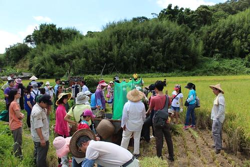 農民在過程中獲得合理收入之餘,更希望農村活絡起來,看到來自各地的朋友到農村,無論是農事體驗或欣賞當地獨特的生產地景。