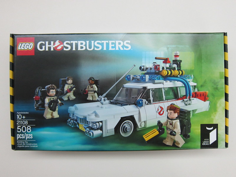 LEGO - 21108 - Ghostbusters - Ecto-1