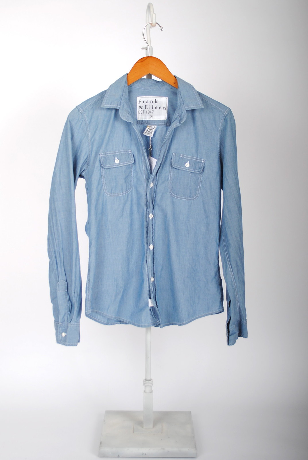 Barry Shirt - Stonewashed Indigo