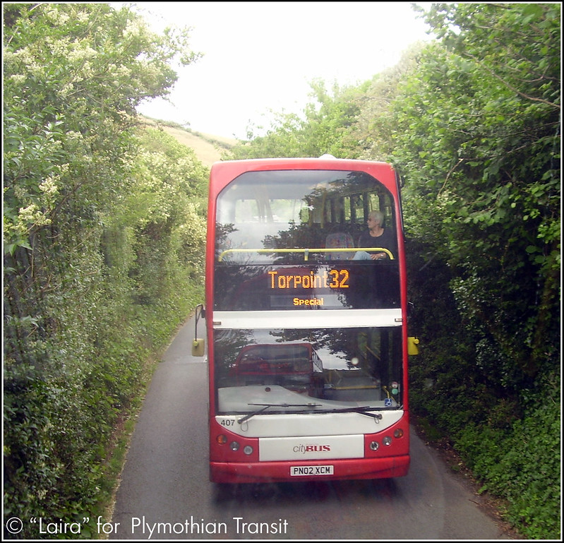 Plymouth Citybus 407 PN02CXCM