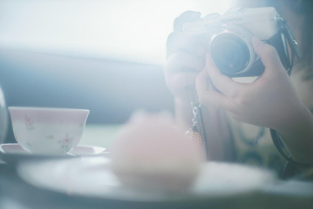 ティータイム | Sony a7 + Ai Nikkor 50mm F1.2S