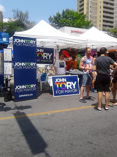 John Tory at WorldPride, Toronto