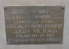 Photo of Victoria brass plaque