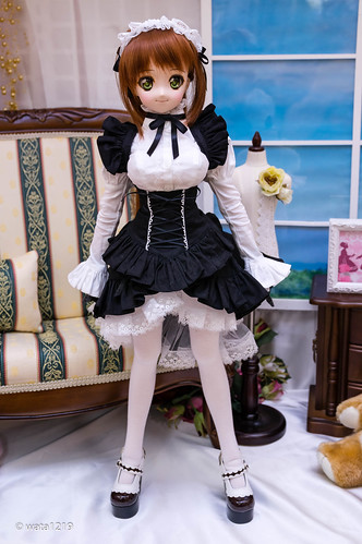 [DDS] Mayu:Sweet maid set Black (1)
