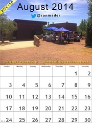 August 2014 Calendar: Behind the scenes at the Old Las Vegas Mormon Fort @NevStateParks @CityOfLasVegas #nv150