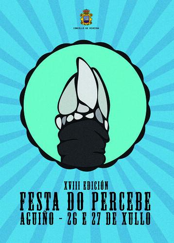 Ribeira 2014 - Festa do Percebe de Aguiño - cartel