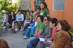 Curso de ungüentos do Foro Ecolóxico de Ribeira
