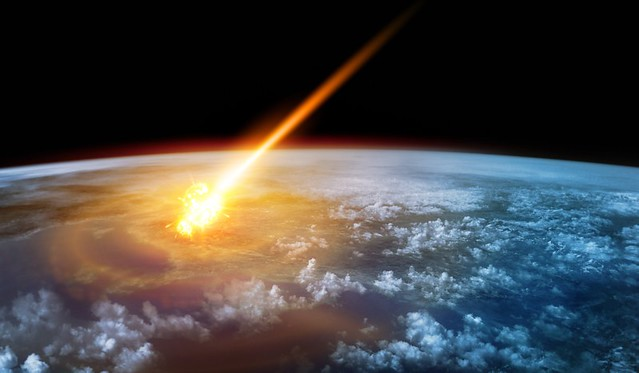 Life On Earlier Earth meteorite