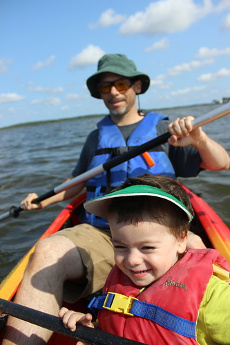 Bethany Beach - Coastal Kayak - Sagan and Ryan