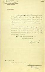 54.Értesítés a miniszterelnökség részére Habsburg Ottó főherceg megszületéséről